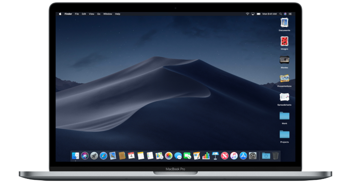 macOS Mojave on MacBook Pro