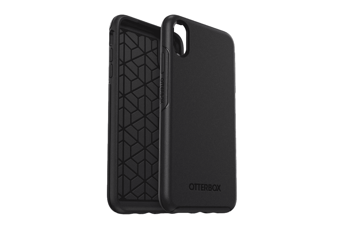 Otterbox Symmetry case in our roundup of iPhone XS Max cases.
