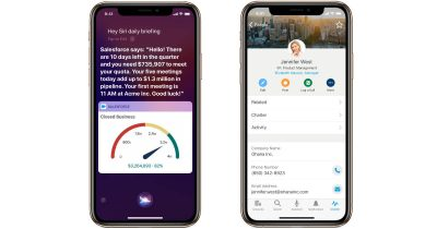 Apple and Salesforce customer service app partnership
