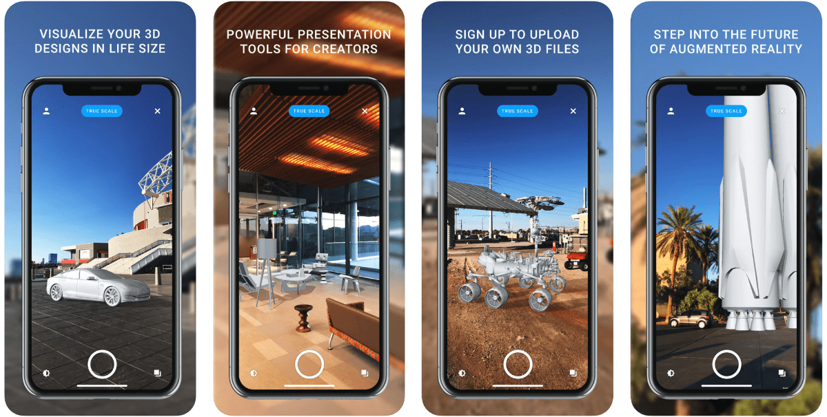 screenshots of solihaus in our roundup of iOS 12 ar apps.