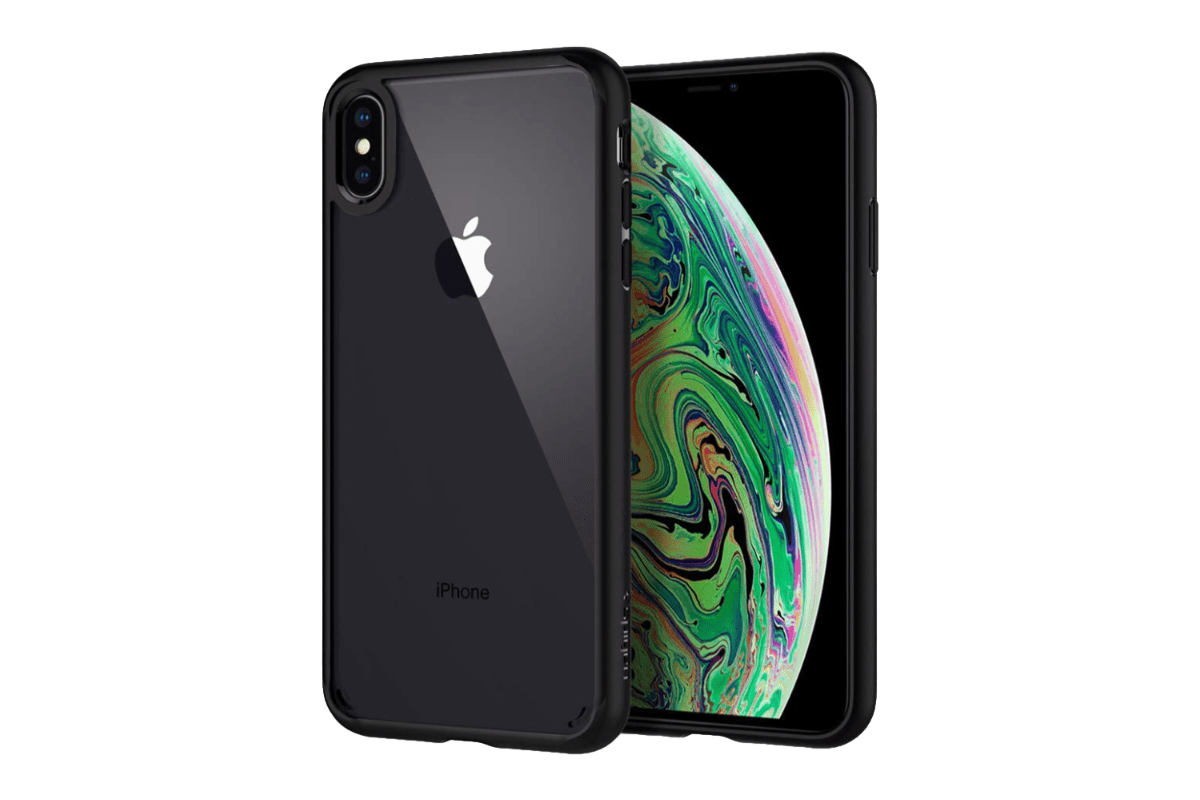 Image of Spigen Ultra Hybrid in our roundup of iPhone XS Max cases.