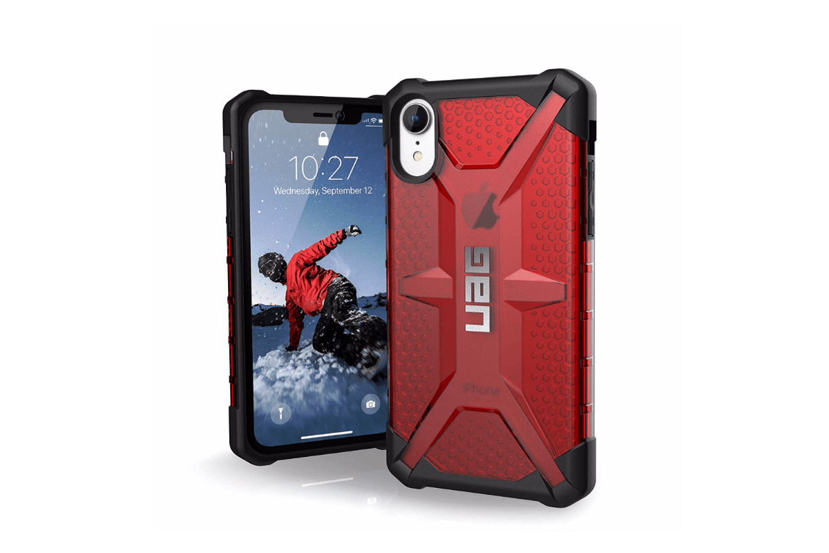 Image of UAG Plasma case in our roundup of iPhone XR cases.