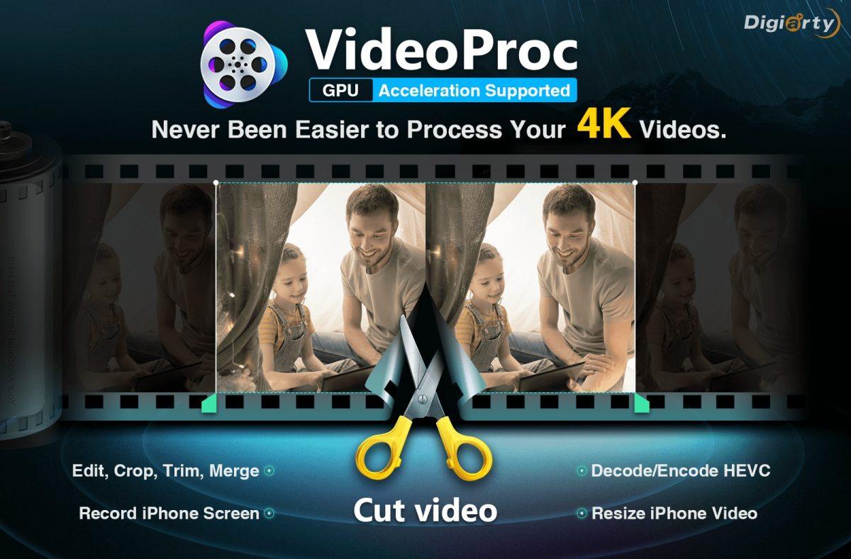 VideoProc – Process, Edit, Resize & Transcode 4K/HD Videos