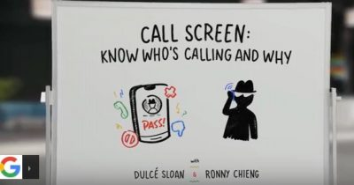 Google's CallScreen service