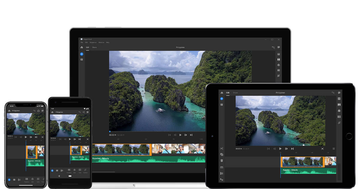 Adobe Launches Premiere Rush CC Video Editor for Mac, iPhone, and iPad