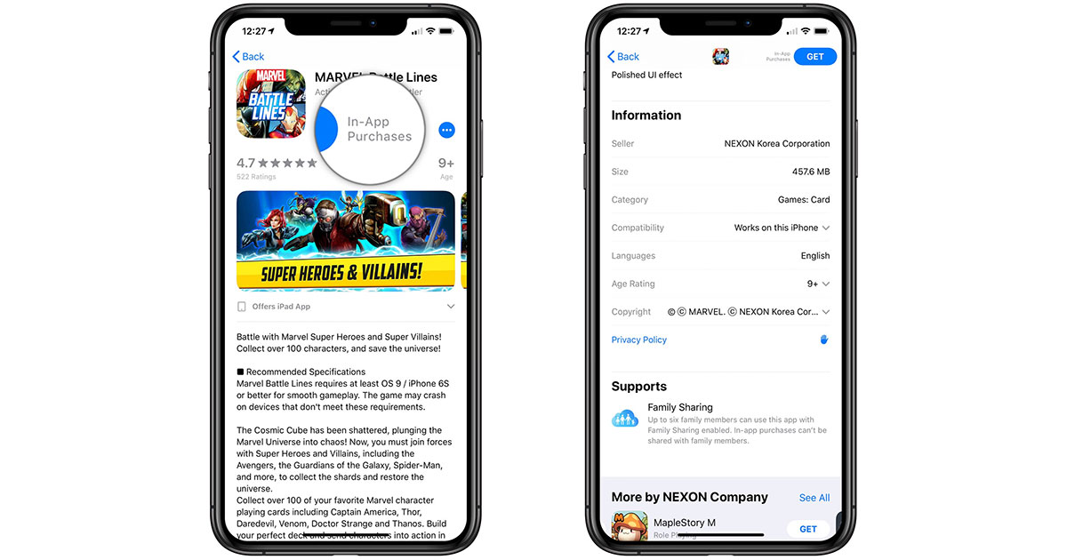 Apple's App Stores No Longer Listing All In-App Purchases