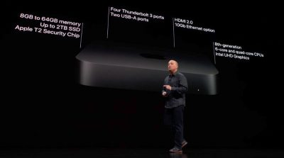 Apple introduces Mac mini 2018 at the