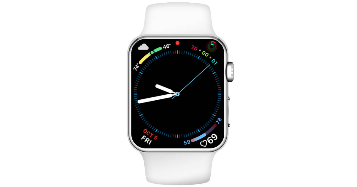 Dark Sky gets Apple Watch Series 4 Complications