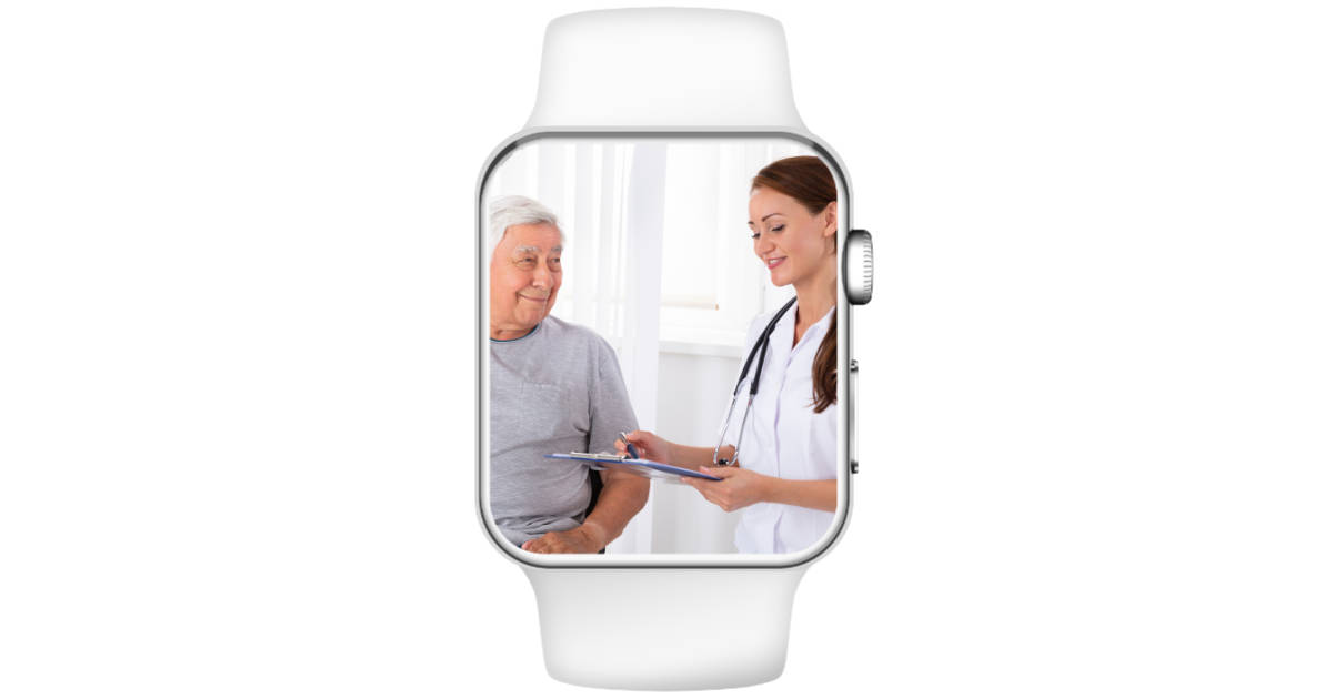 Apple Watch used for knee and hip replacement recovery