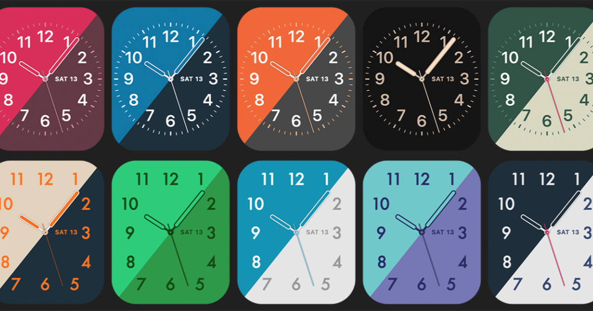 Check Out the Apple Watch Faces Steve Troughton-Smith Designed