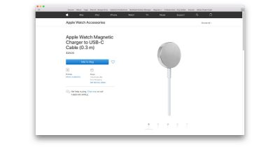 Apple Watch USB-C charger cable