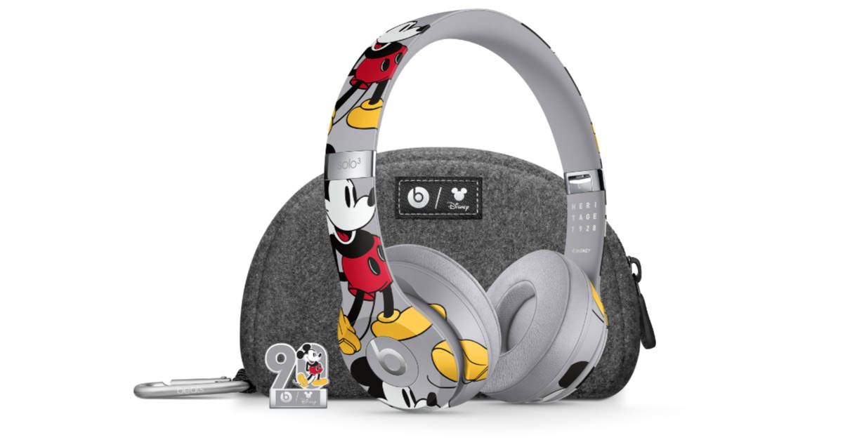 Apple Celebrates Mickey Mouse's 90 Anniversary with Limited Edition Beats Solo 3 Wireless Headphones