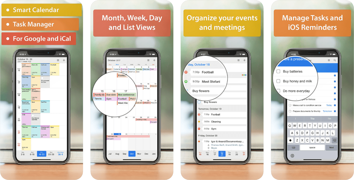 Images of calendars 5 for our roundup of apple alternative apps.