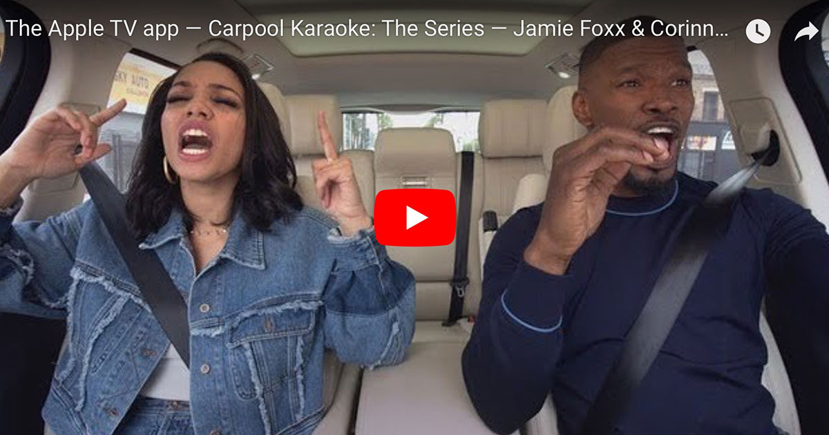 Carpool Karaoke: The Series — Jamie Foxx & Corinne Foxx — Preview