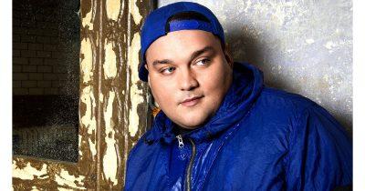 Hip-hop DJ Charlie Sloth