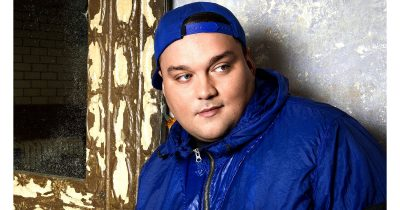 Hip-hop DJ Charlie Sloth