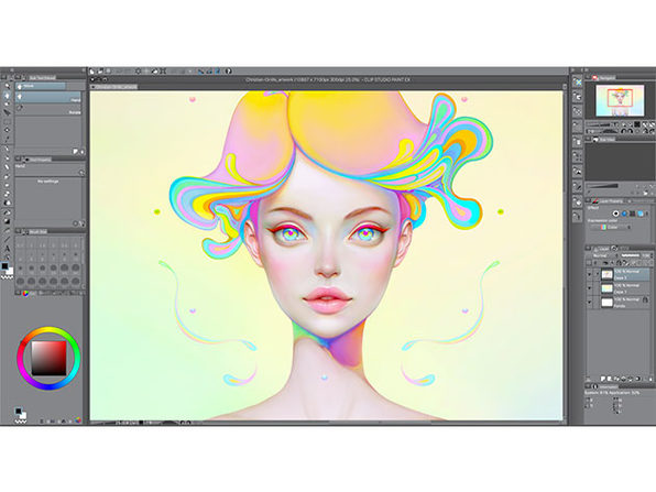 Clip Studio Paint Pro for Mac and Windows: $29.99