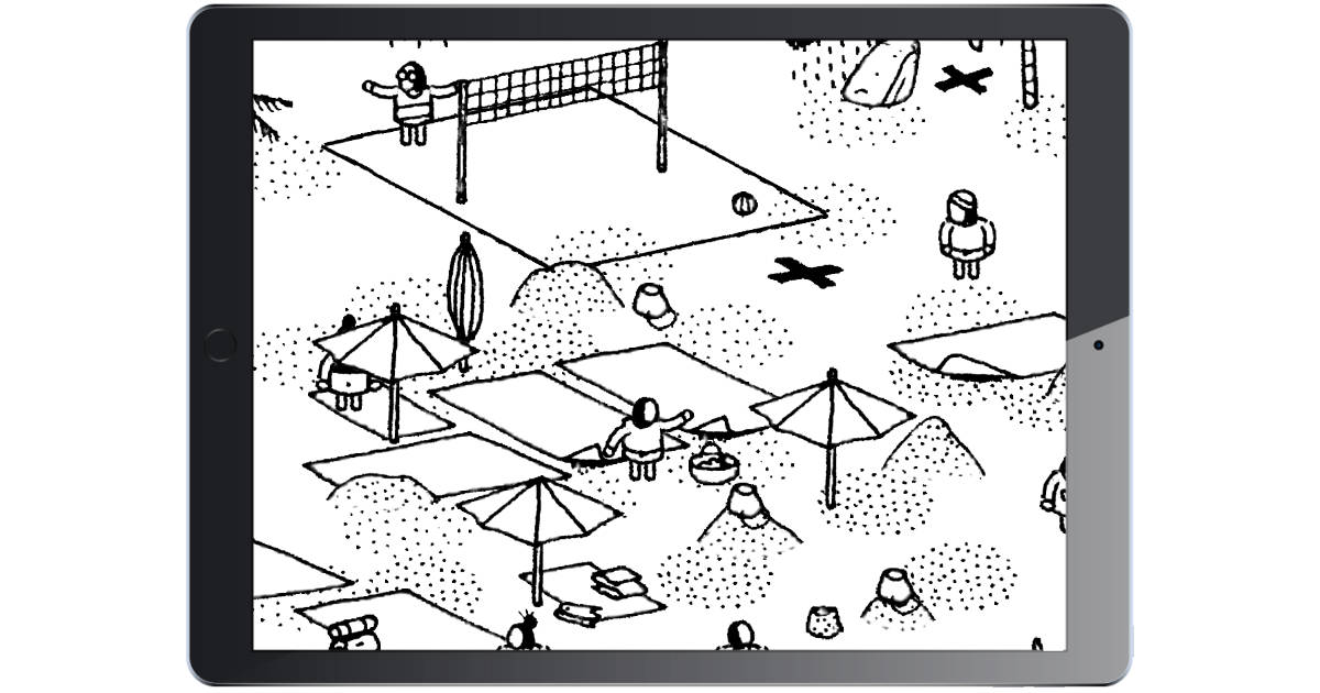 Hidden Folks Adds New Beach Levels to Kill More of Your Time Searching for Stuff