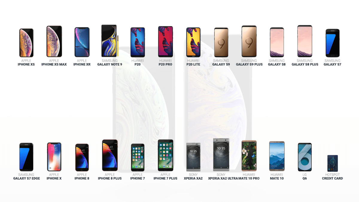 This Website Lets you Compare Smartphones in 3D