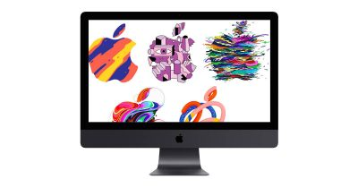 There's More in the Making Apple media event graphics on new iMac