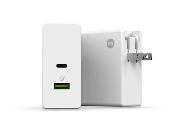 M2 Square USB-C and Quick Charge 3.0 Charger: $37.99
