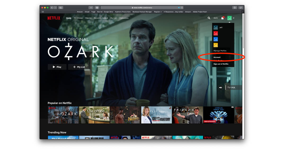 how to download off netflix on mac