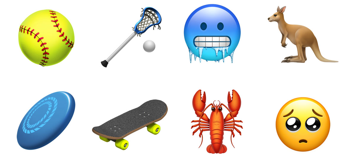 New Emojis in iOS 12.1