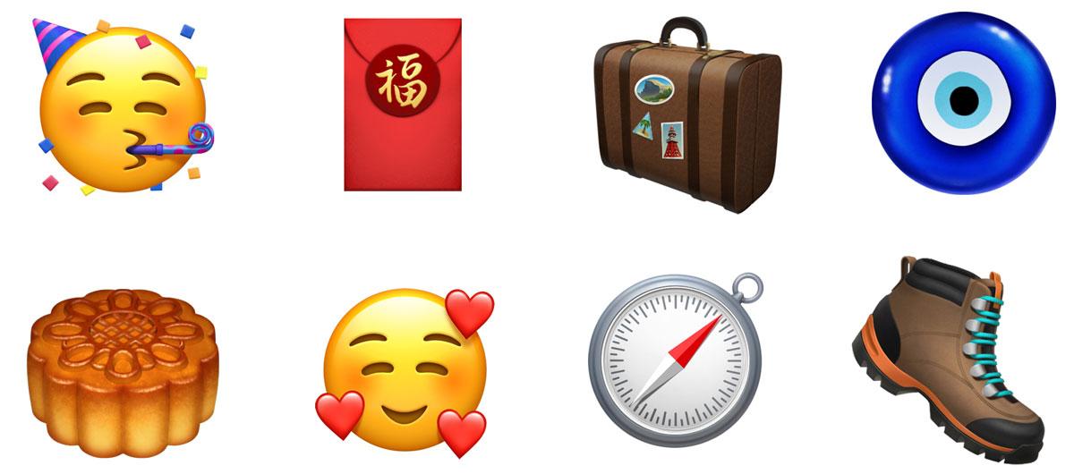 New Emojis in iOS 12.1
