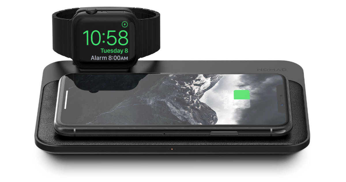 NOMAD Intros Wireless Charging Base Station for iPhone and Apple Watch