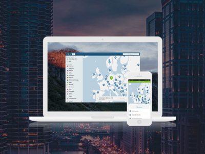 NordVPN on MacBook and iPhone