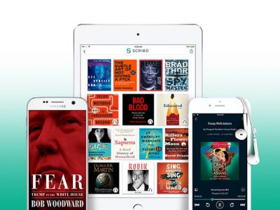 Scribd on iOS and Android