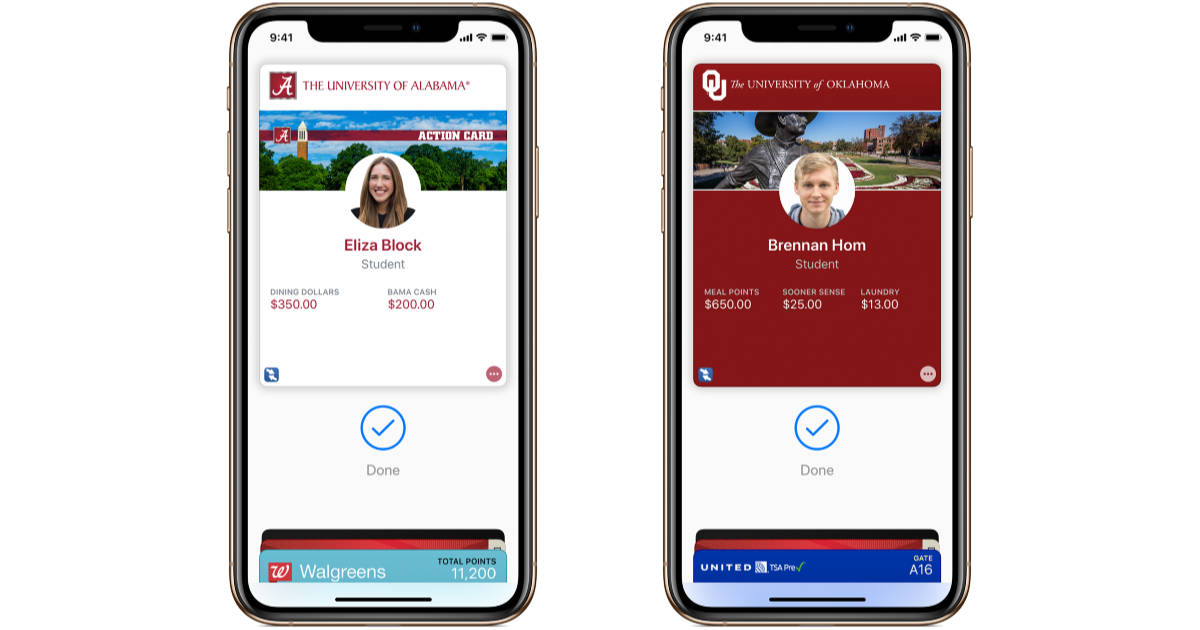 Student ID in Wallet on iPhone