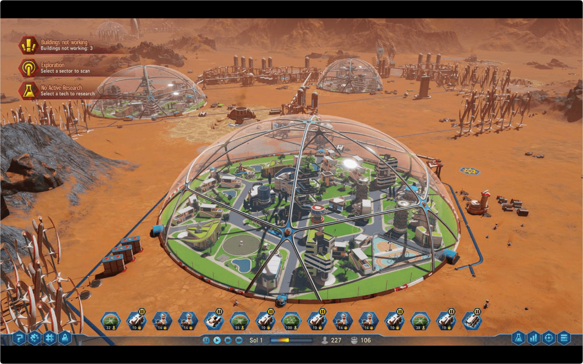 Surviving Mars Game Now on macOS