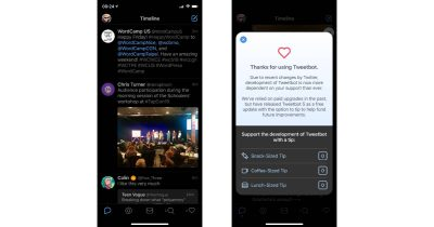 Tweetbot 5 on the iPhone