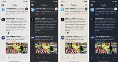 Tweetbot 5 themes on iPhone and iPad