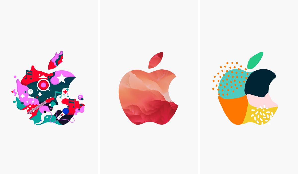 Here's a Wallpaper Generator Shortcut For Those Apple Logos