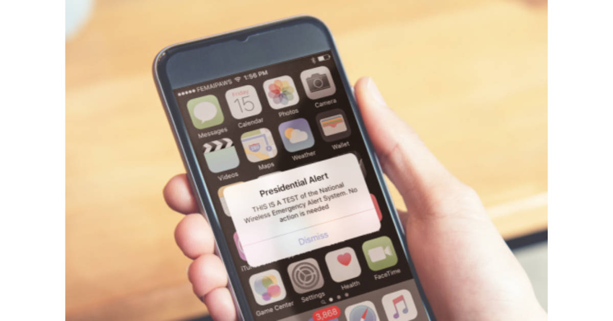 Check Out TMO's FAQ for Today's Presidential Alert Test