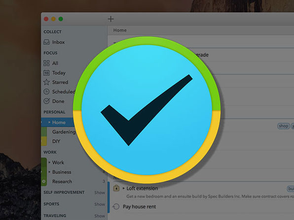 2Do Task Manager for Mac Lifetime License: $29.99