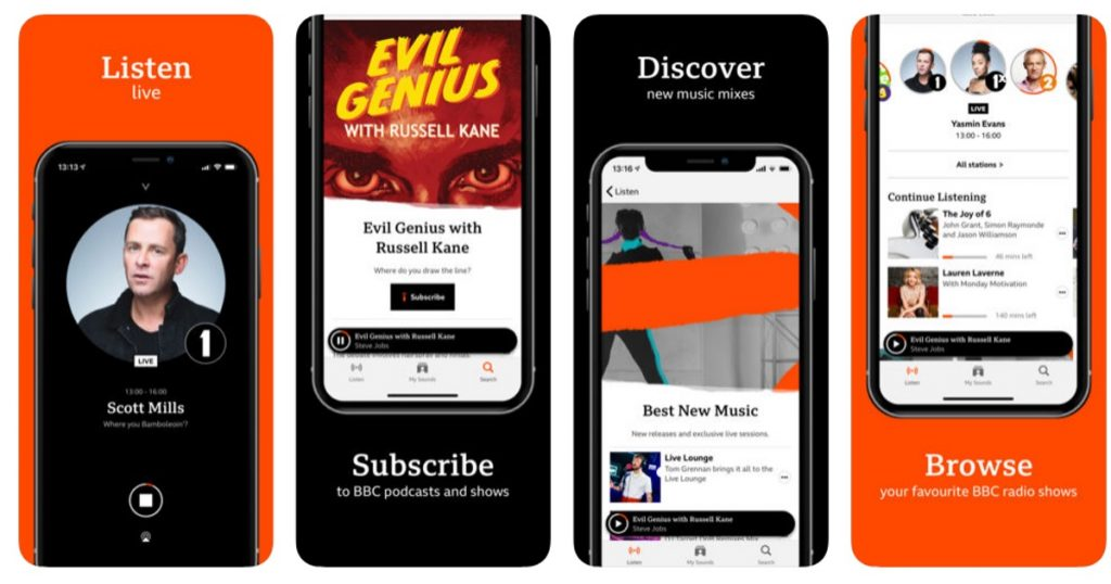 The new BBC Sounds app