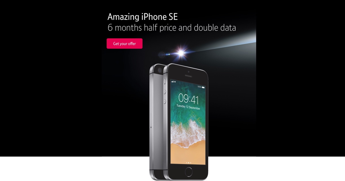iPhone SE is £16 a Month in UK BT Black Friday Sale