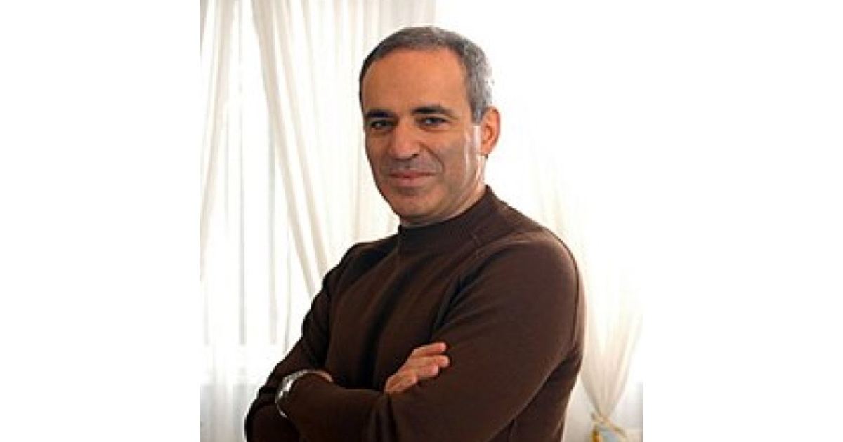 Former World Chess Champion Gary Kasparov is Upbeat About AI