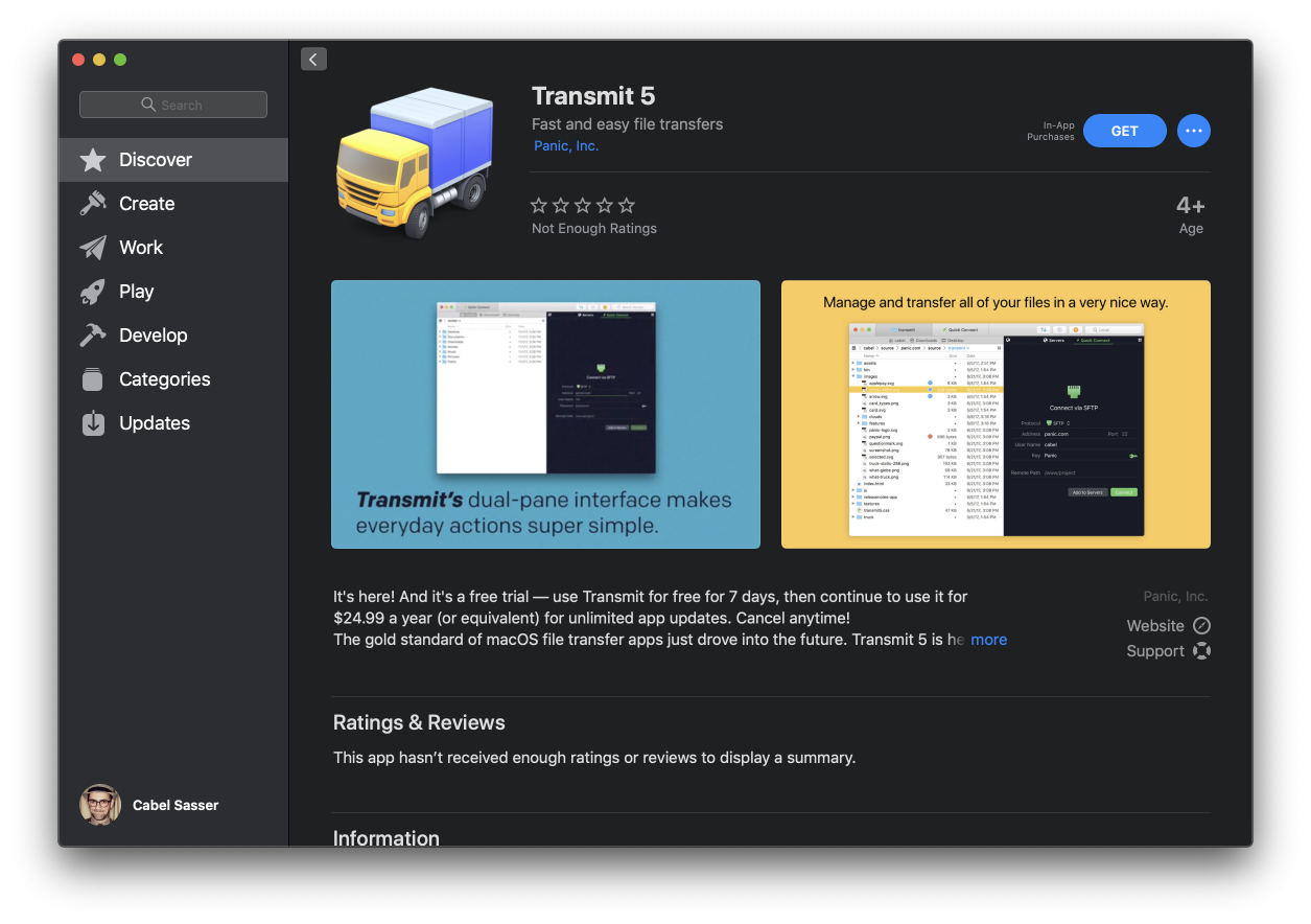 Transmit 5 Now Available in the Mac App Store - The Mac Observer
