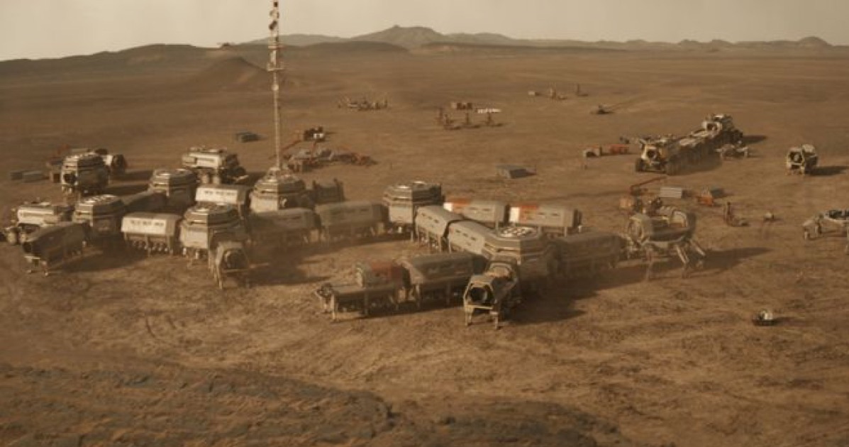 Mars colony (NATGEO)