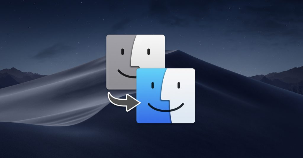 macOS migration assistant logo
