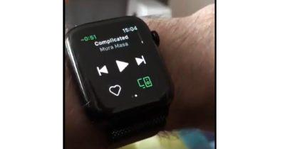 Spotify for Apple Watch Beta