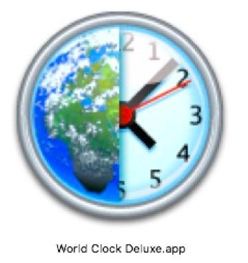 World Clock Deluxe icon