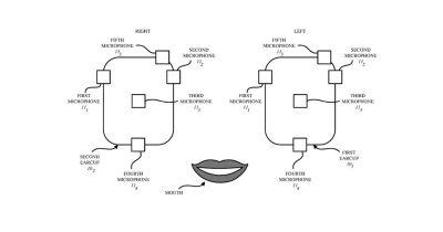 Headphone patent