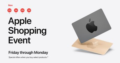 Apple Black Friday Event 2018