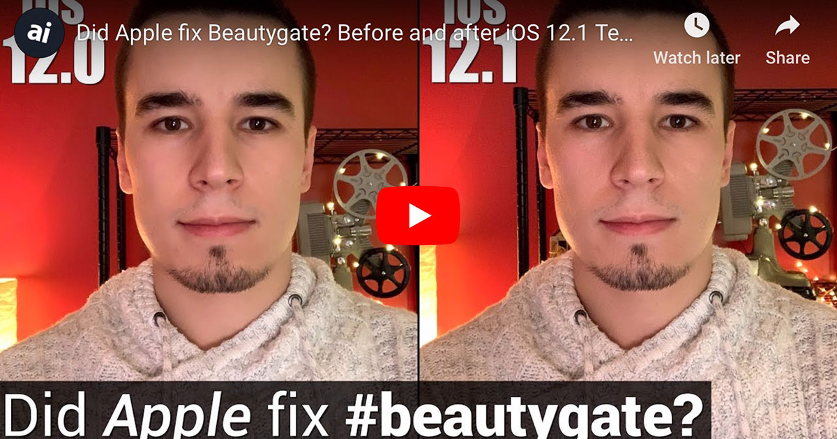 End of Beautygate?