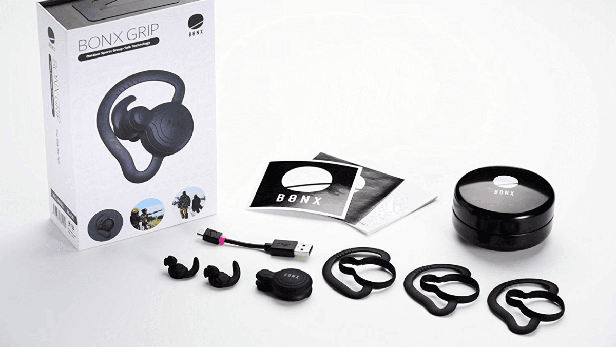 image of bonx grip hearables for our 2018 holiday gift guide